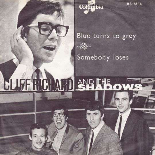 Coverafbeelding Cliff Richard and The Shadows - Blue Turns To Grey