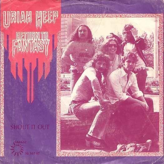 Coverafbeelding Return To Fantasy - Uriah Heep