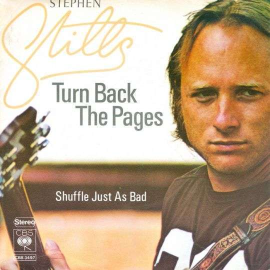 Coverafbeelding Turn Back The Pages - Stephen Stills