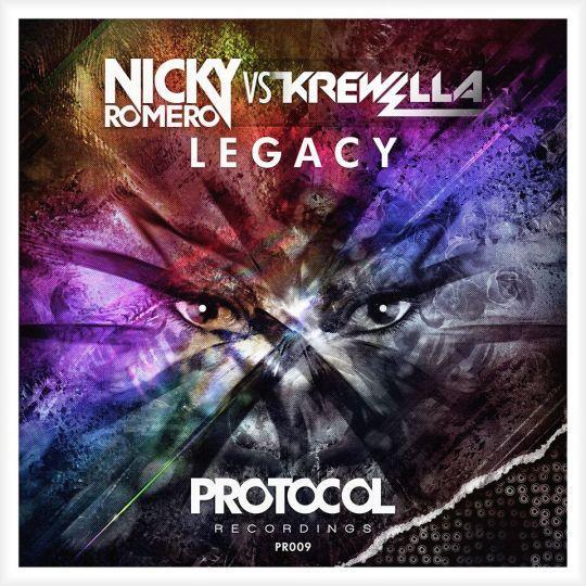 Coverafbeelding nicky romero vs krewella - legacy