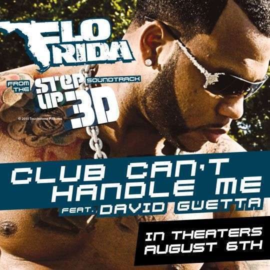 Coverafbeelding Club Can't Handle Me - Flo Rida Feat. David Guetta