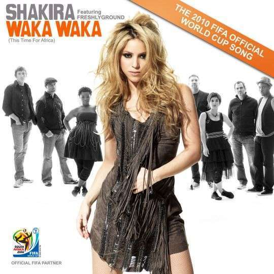 Coverafbeelding Waka Waka (This Time For Africa) - Shakira Featuring Freshlyground