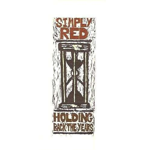 Coverafbeelding Simply Red - Holding Back The Years