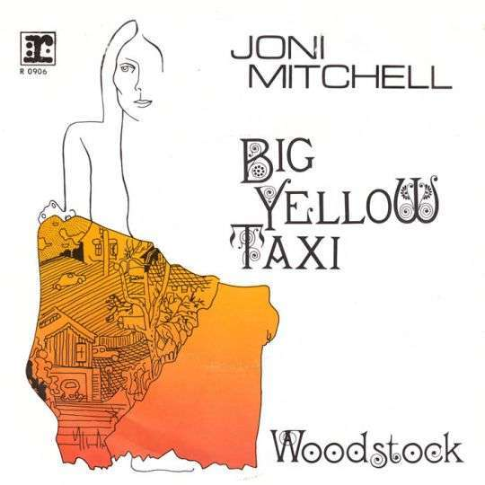 Coverafbeelding Big Yellow Taxi - Joni Mitchell