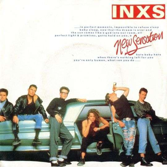 Coverafbeelding New Sensation - Inxs