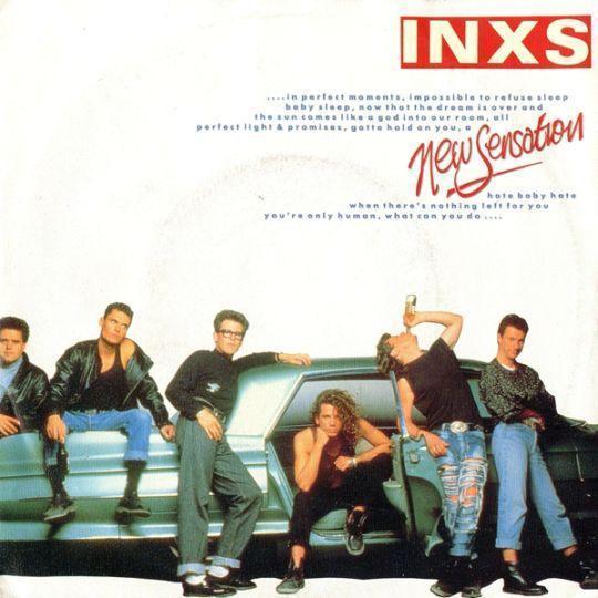 Coverafbeelding INXS - New Sensation
