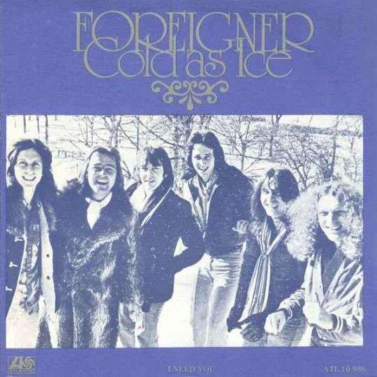 Coverafbeelding Cold As Ice - Foreigner