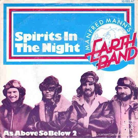 Coverafbeelding Manfred Mann's Earth Band - Spirits In The Night