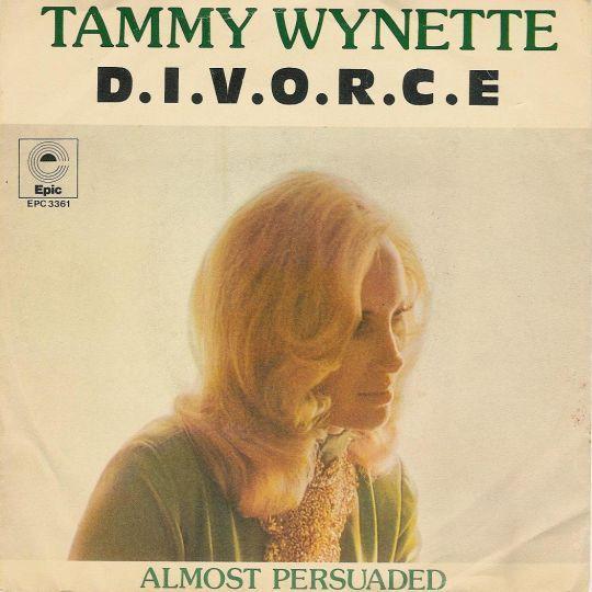 Coverafbeelding D.i.v.o.r.c.e - Tammy Wynette