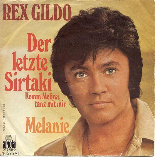 Coverafbeelding Der Letzte Sirtaki - Komm Melina, Tanz Mit Mir - Rex Gildo