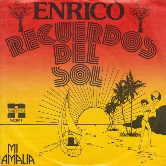 Coverafbeelding Recuerdos Del Sol - Enrico