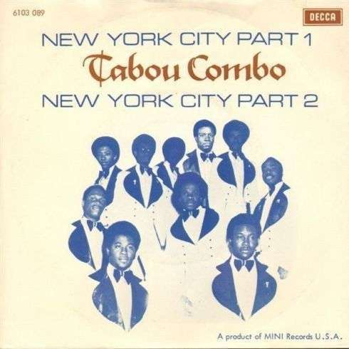 Coverafbeelding Tabou Combo - New York City