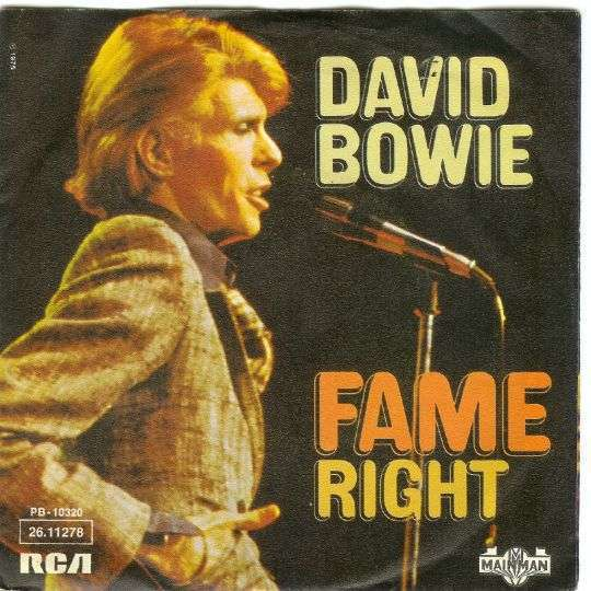 Coverafbeelding Fame - David Bowie