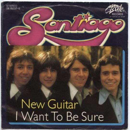 Coverafbeelding Santiago - New Guitar