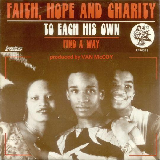 Coverafbeelding Faith, Hope & Charity - To Each His Own