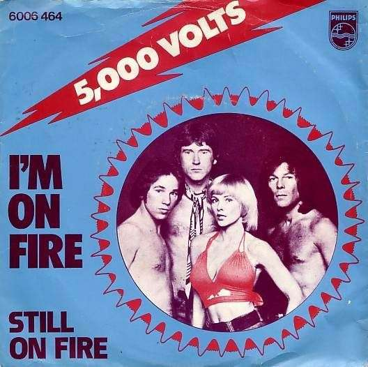 Coverafbeelding 5000 Volts - I'm On Fire