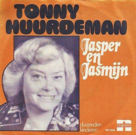 Coverafbeelding Tonny Huurdeman - Jasper En Jasmijn