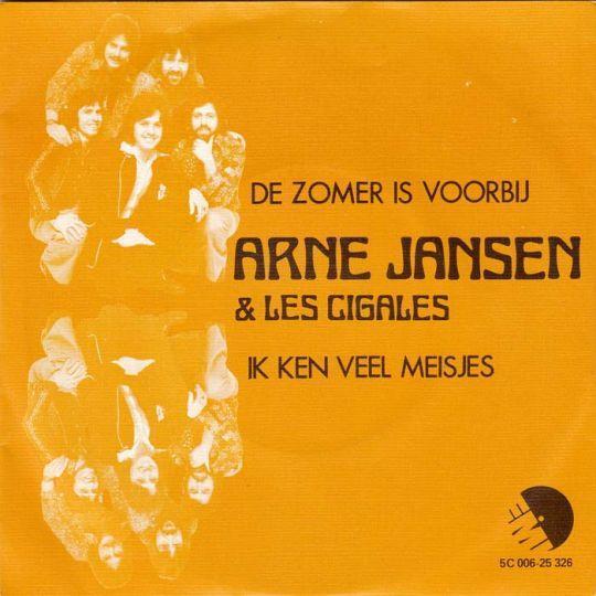 Coverafbeelding De Zomer Is Voorbij - Arne Jansen & Les Cigales