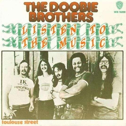 Coverafbeelding Listen To The Music - The Doobie Brothers