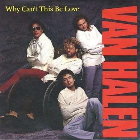 Coverafbeelding Van Halen - Why Can't This Be Love