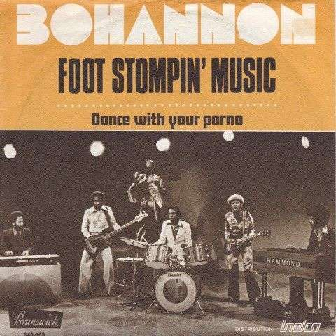 Coverafbeelding Foot Stompin' Music - Bohannon