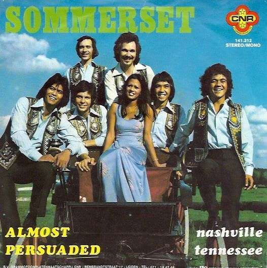 Coverafbeelding Sommerset - Almost Persuaded