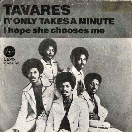 Coverafbeelding It Only Takes A Minute - Tavares