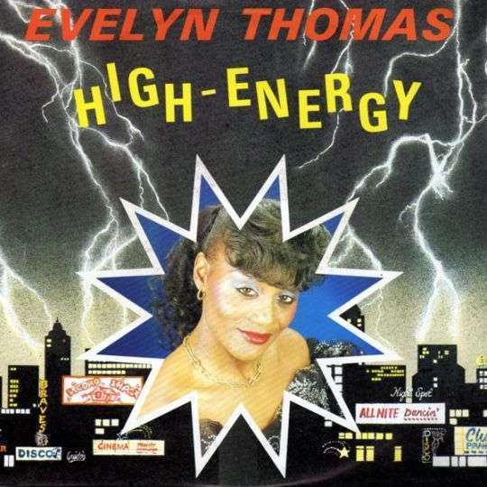Coverafbeelding Evelyn Thomas - High-Energy