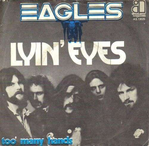 Coverafbeelding Lyin' Eyes - Eagles