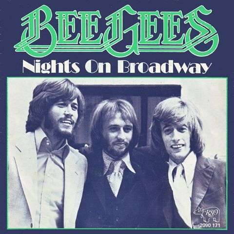 Coverafbeelding Bee Gees - Nights On Broadway