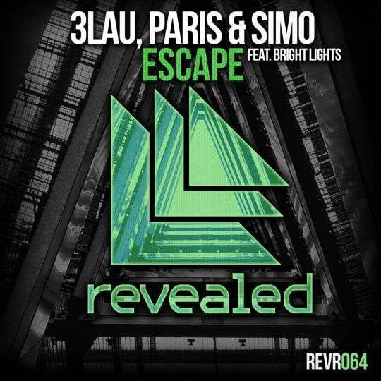 Coverafbeelding Escape - 3lau, Paris & Simo Feat. Bright Lights