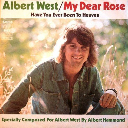Coverafbeelding Albert West - My Dear Rose
