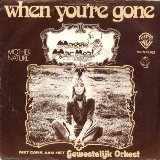 Coverafbeelding When You're Gone - Maggie Macneal Met Dank Aan Het Gewestelijk Orkest
