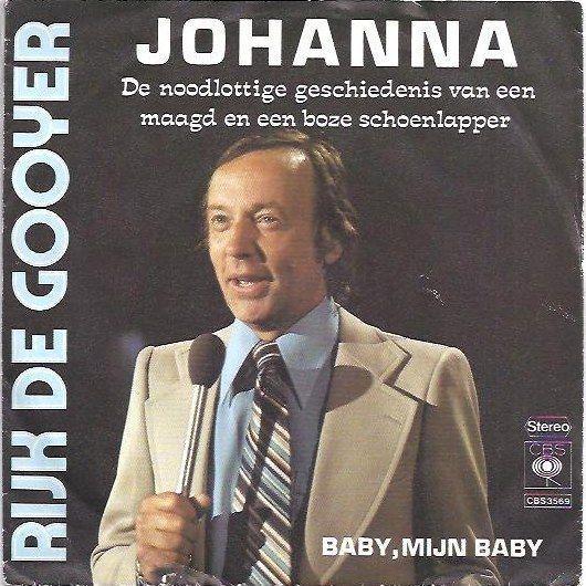 Coverafbeelding Johanna - De Noodlottige Geschiedenis Van Een Maagd En Een Boze Schoenlapper - Rijk De Gooyer