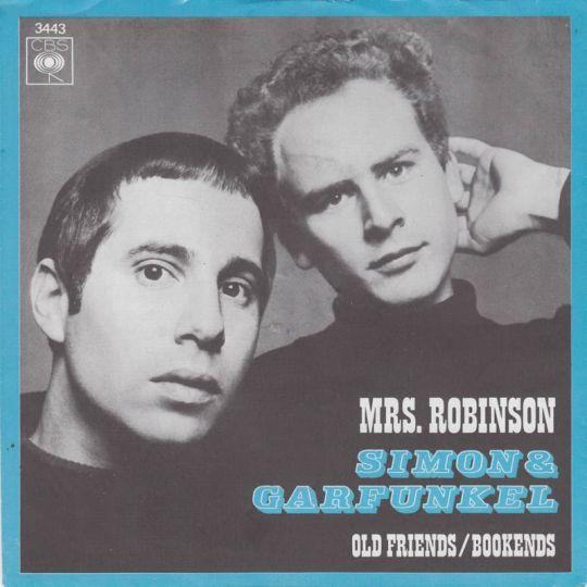 Coverafbeelding Mrs. Robinson - Simon & Garfunkel