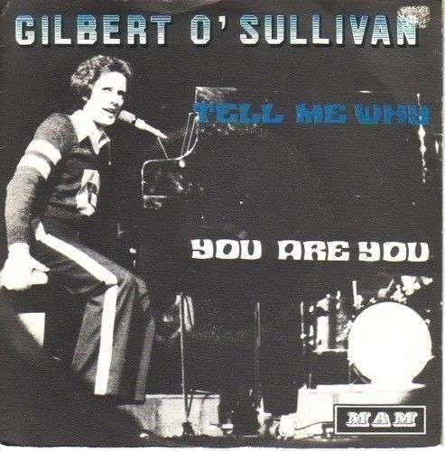Coverafbeelding You Are You - Gilbert O'sullivan