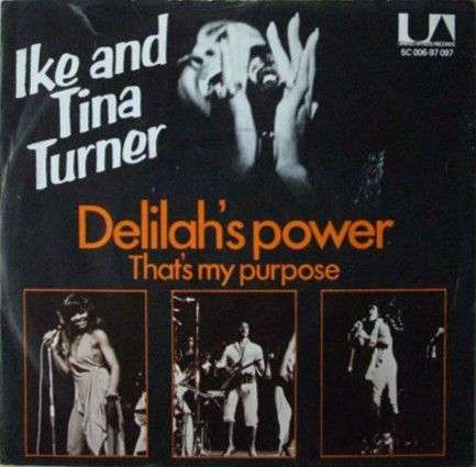 Coverafbeelding Ike and Tina Turner - Delilah's Power