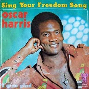 Coverafbeelding Sing Your Freedom Song - Oscar Harris