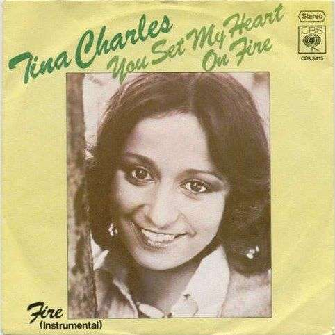 Coverafbeelding You Set My Heart On Fire - Tina Charles