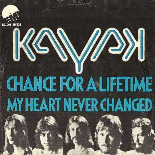 Coverafbeelding Chance For A Lifetime - Kayak