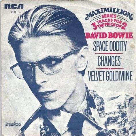 Coverafbeelding David Bowie - Space Oddity