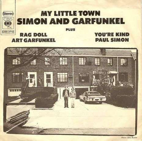 Coverafbeelding My Little Town - Simon And Garfunkel