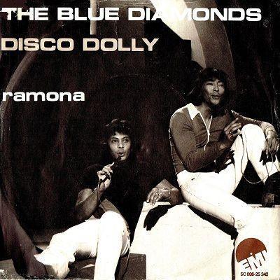 Coverafbeelding Disco Dolly - The Blue Diamonds