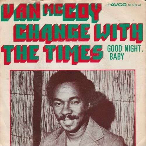 Coverafbeelding Change With The Times - Van Mccoy