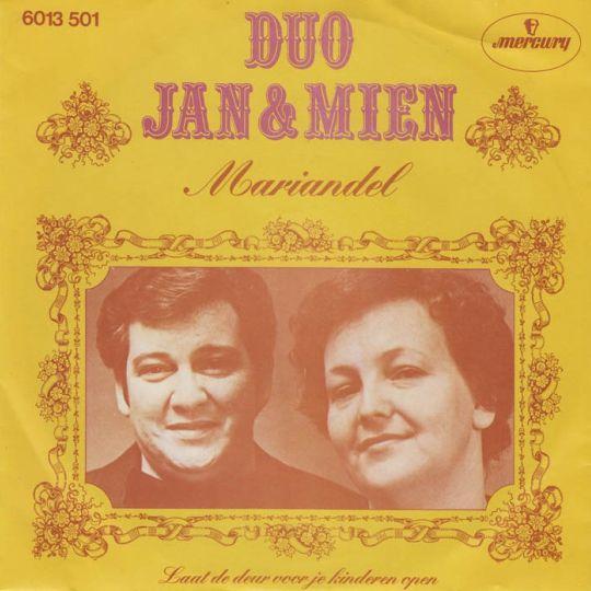 Coverafbeelding Duo Jan & Mien - Mariandel