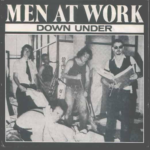 Coverafbeelding Men At Work - Down Under