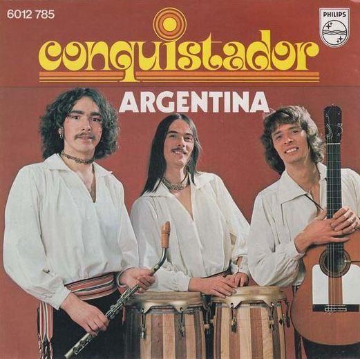 Coverafbeelding Conquistador - Argentina