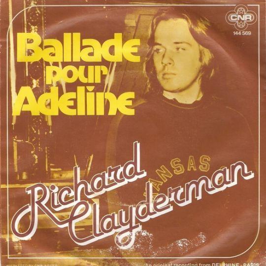 Coverafbeelding Richard Clayderman - Ballade Pour Adeline