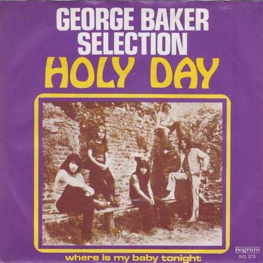 Coverafbeelding Holy Day - George Baker Selection