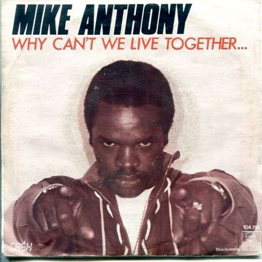 Coverafbeelding Why Can't We Live Together... - Mike Anthony